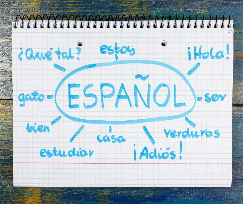 Spanish words depicting the kind of translation work performed by David Magallanes Writing Services.