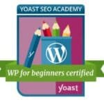 SEO WP for Beginners Certificate